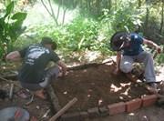 Volontaires en écovolontariat