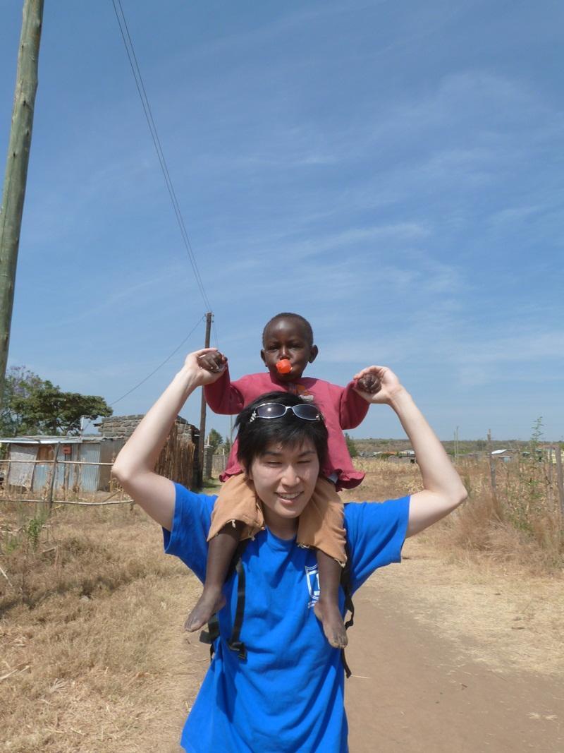 Bénévole action humanitaire