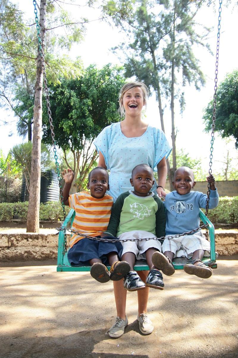 S'occuper d'enfants en Afrique