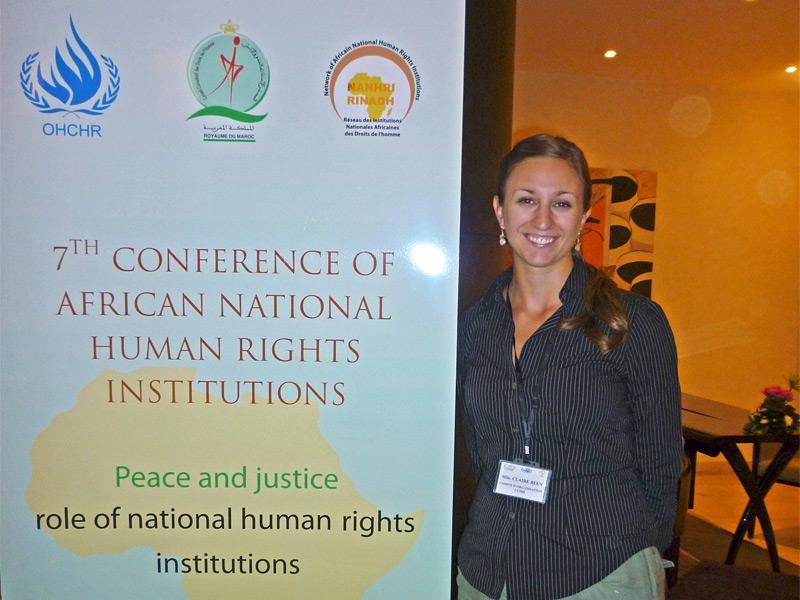 Stage droit et droits de l'homme