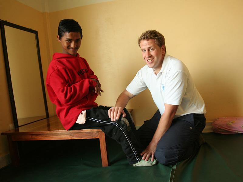 Kinésithérapeute volontaire