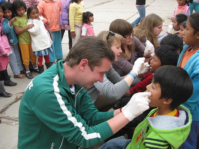 Action de sensibilisation à l''hygiène générale en humanitaire