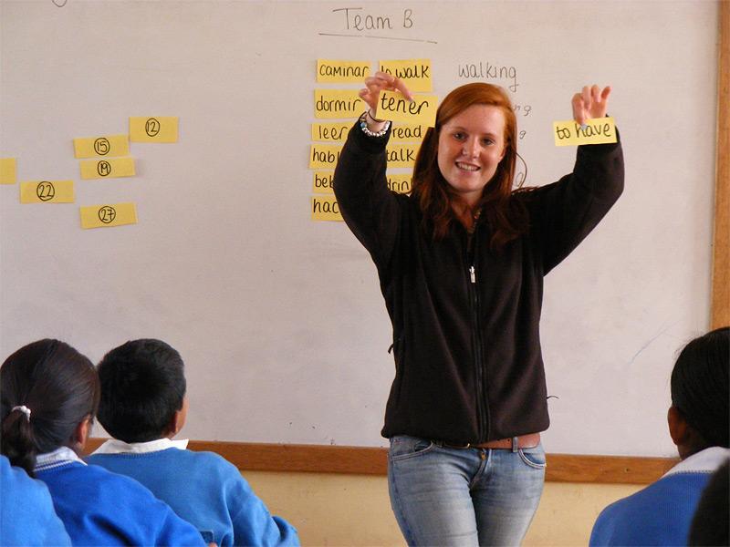 Enseignement des langues anglais