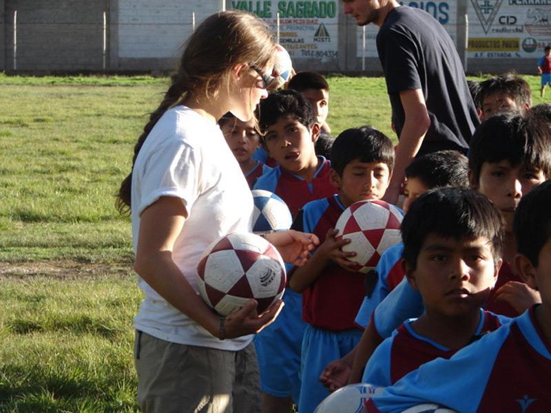 Volontariat entraînement football