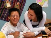 Aide humanitaire au sein d'une école spécialisée