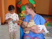 Aide à l'enfance en humanitaire