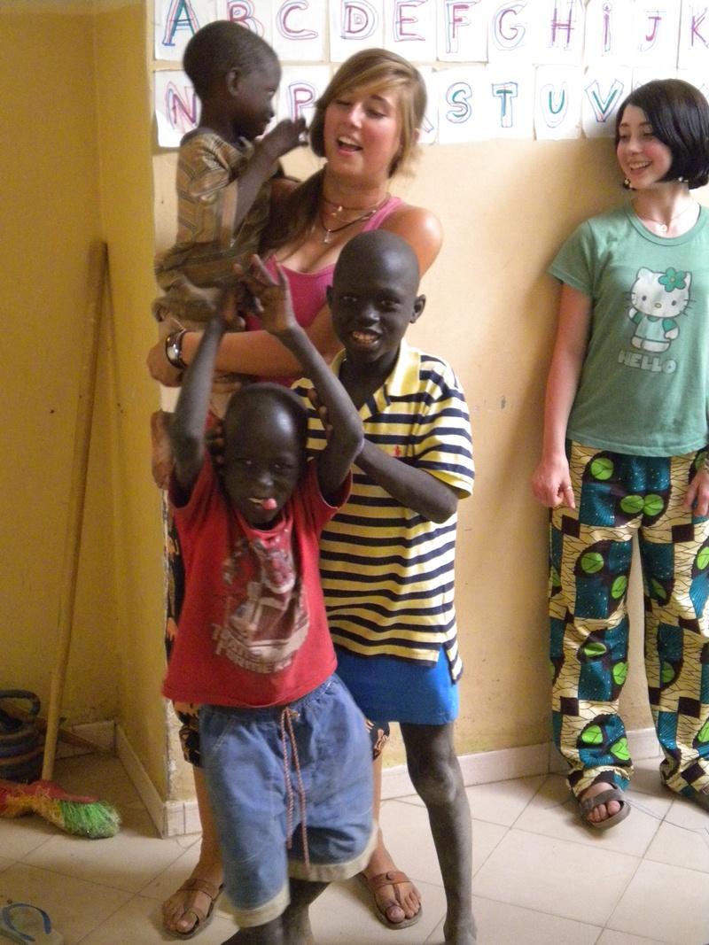Activité éducative humanitaire