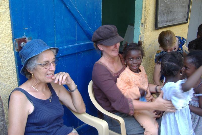 Atelier artistique humanitaire