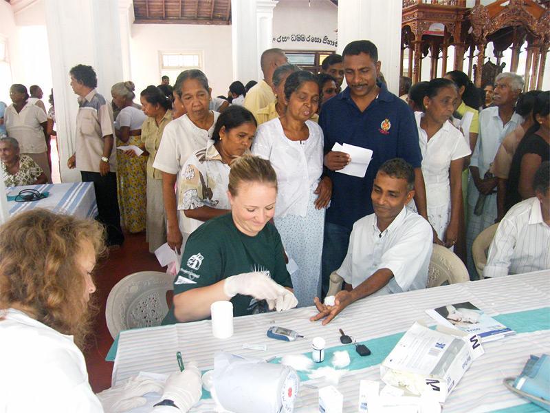 Campagne de sensibilisation sur l'hygiène et la santé