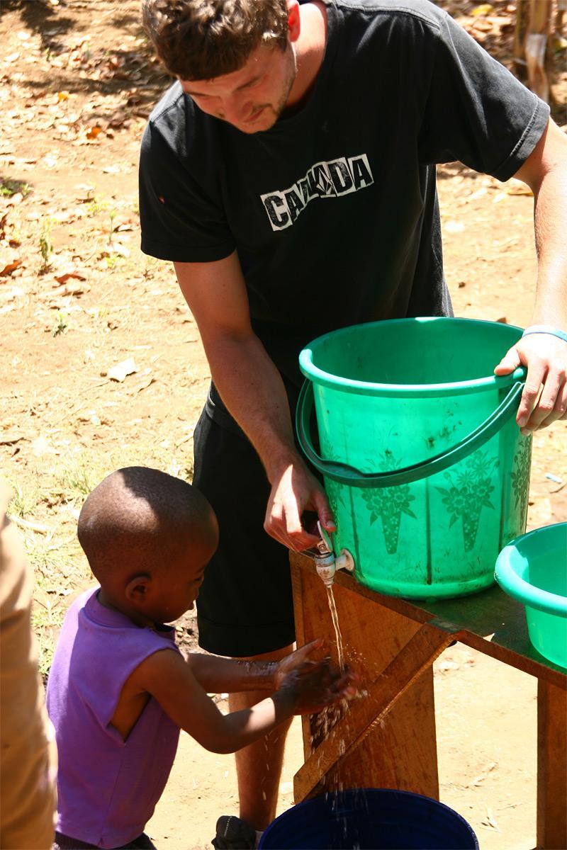 Action hygiène des enfants
