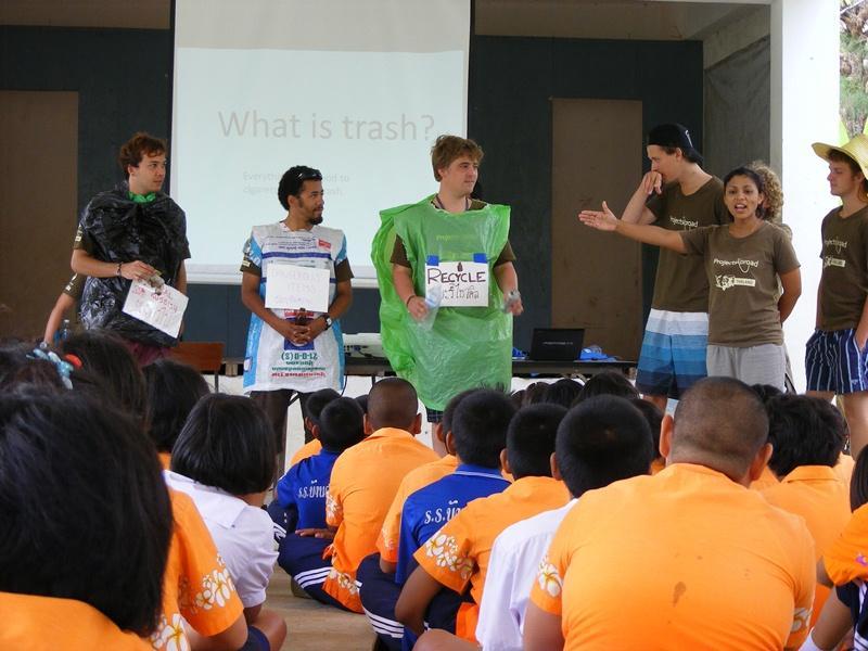 Jeux éducatifs sur le tri des déchets
