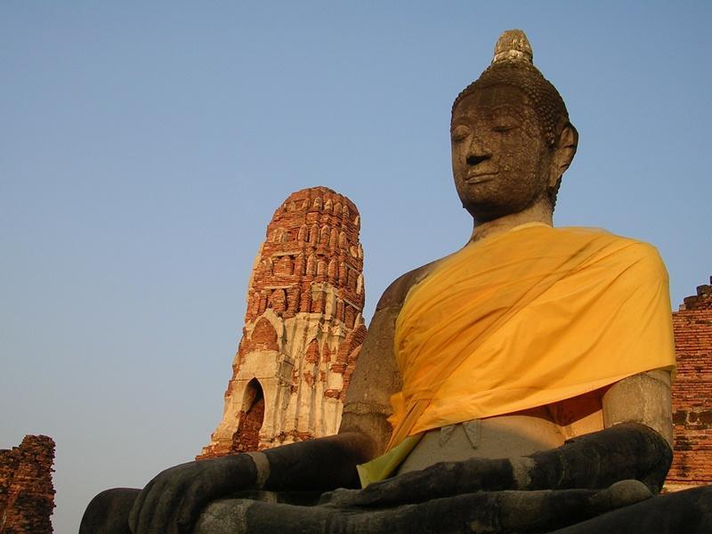 Visite d'un temple bouddhiste