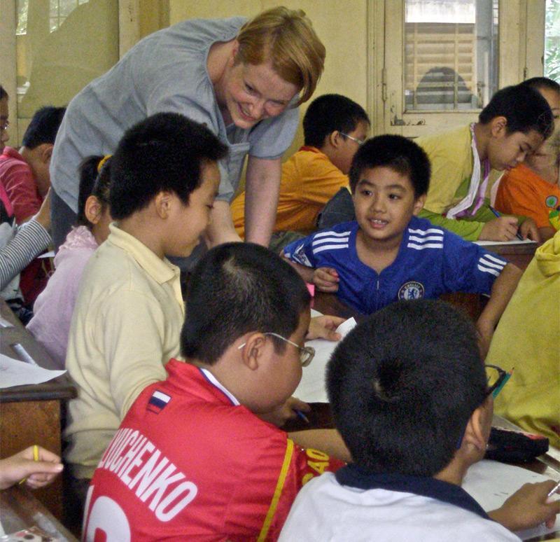 Enseignante volontaire