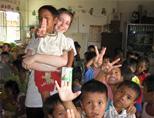 Volunteering with children