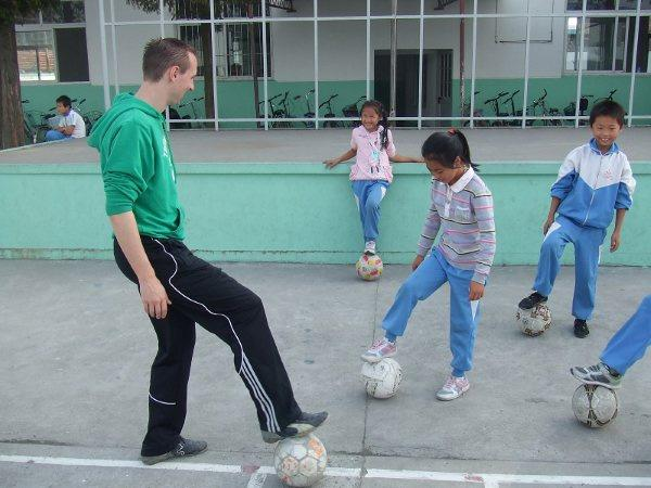 Sports programme in China