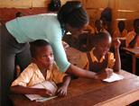 Teaching volunteer in Ghana