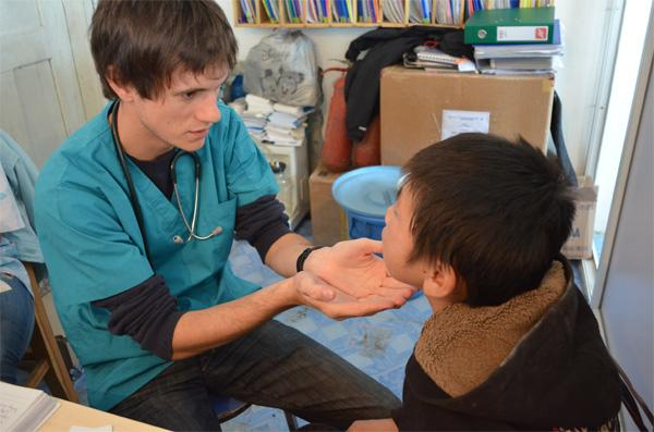 Volunteer on a Medical Outreach