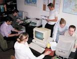 Volunteers at the Brasov Visitor