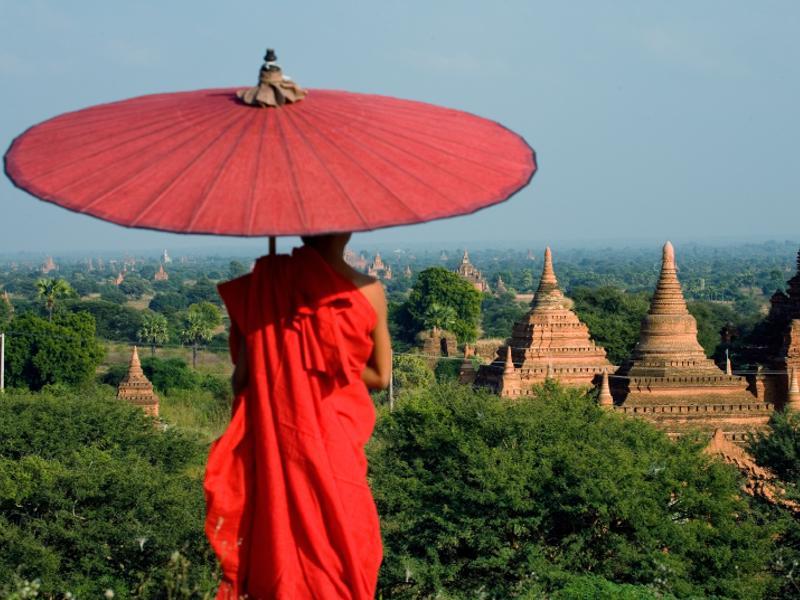 Panorama in Birmania