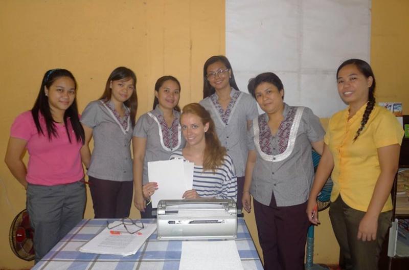 Volontariato alle Filippine