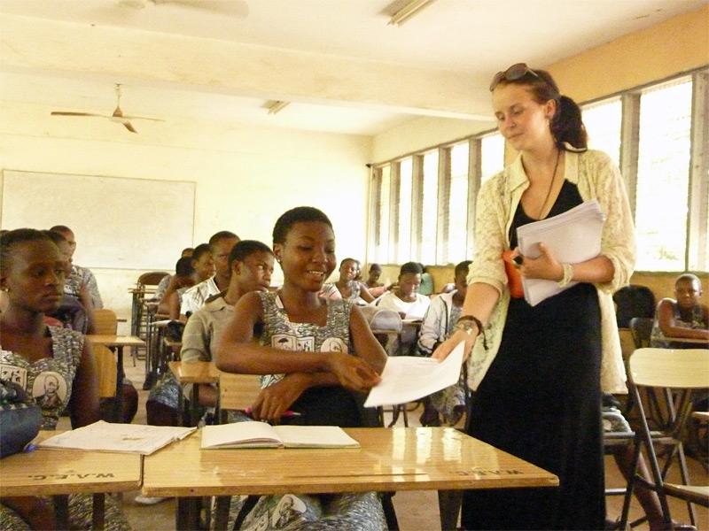Stage sui diritti umani in Ghana