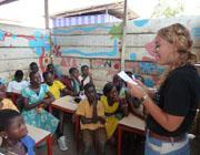 Volontariato in Ghana - insegnamento