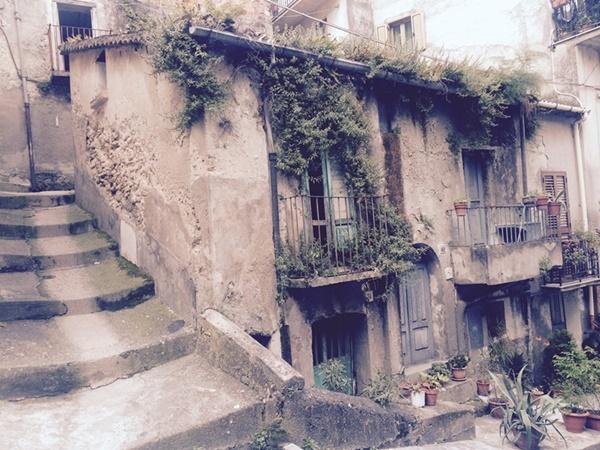 Una casa di Reggio Calabria, Italia