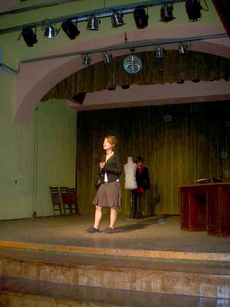 Volontariato Teatro in Romania