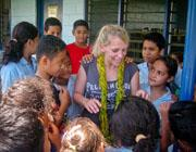 Missioni di insegnamento alle Samoa