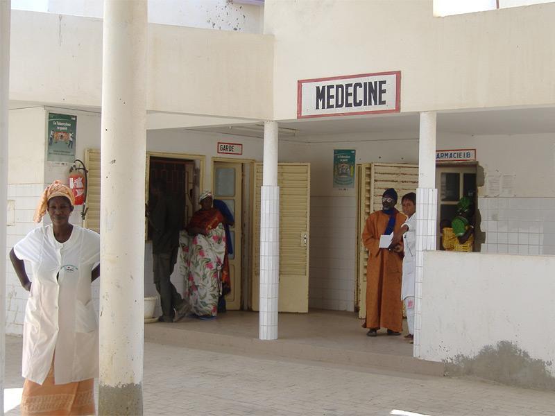 Ospedale in Senegal