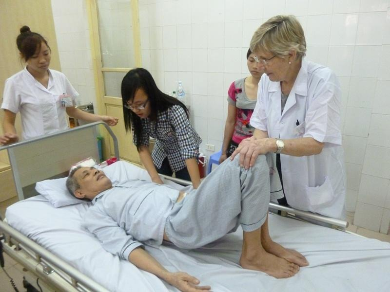 Stage Fisioterapia in Vietnam