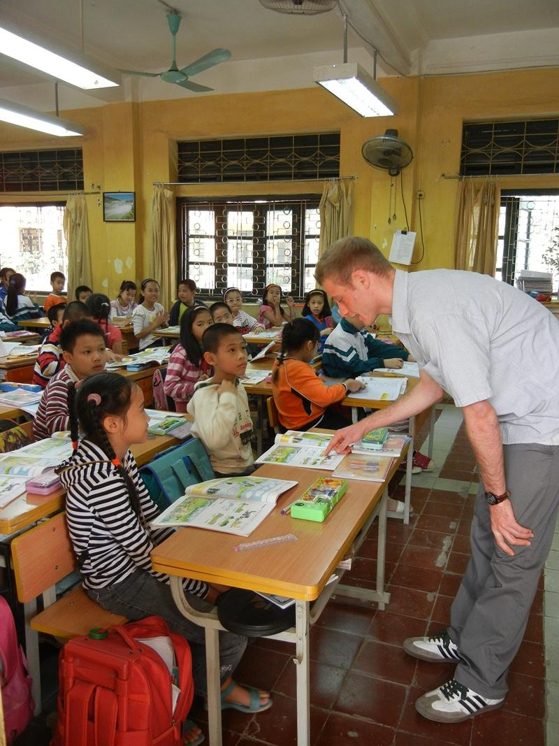 Volontariatoin Vietnam -  Insegnamento