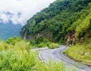 La strada che porta a Mai Chau, Vietnam