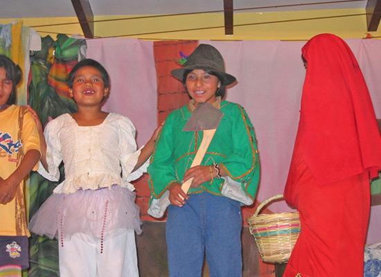 Children's playlet