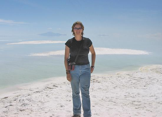 Edge of Salt Lake