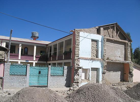 Orphanage in construction