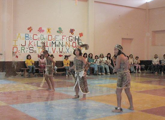 Orphans dancing