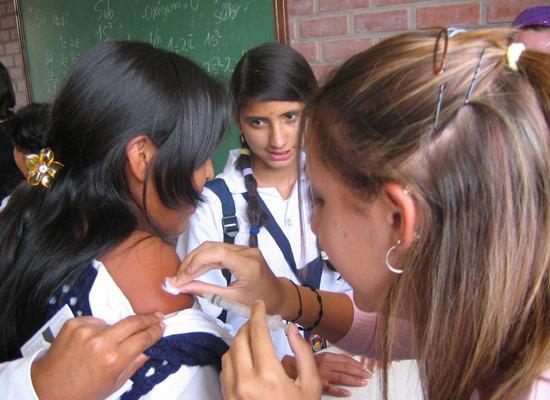Vaccination in schools