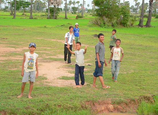 Kids from Orphanage