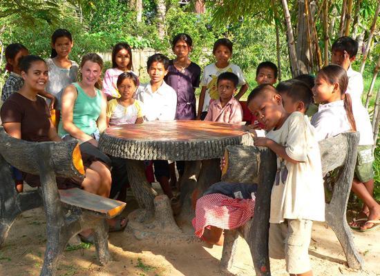 Volunteers at Orphanage