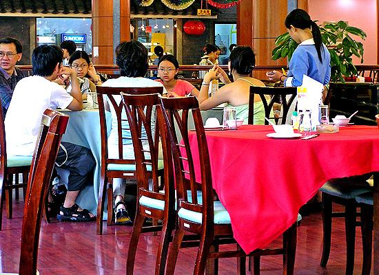 Chinese in resturant