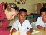 Volunteer at Nadi Christian Academy school