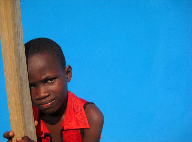 Girl in Ghana