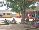 Winneba hospital outside