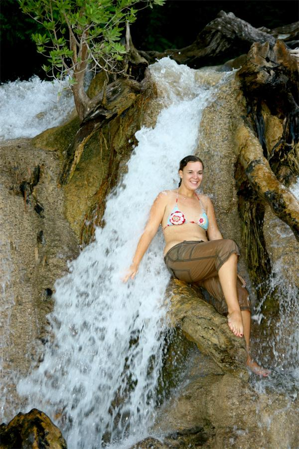 Fabulous times at the waterfall