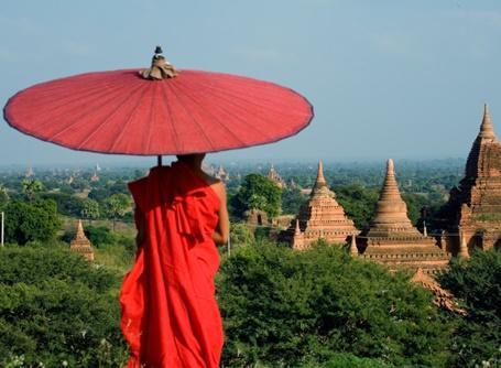 プロジェクトアブロード活動国、魅力あるミャンマーの情景