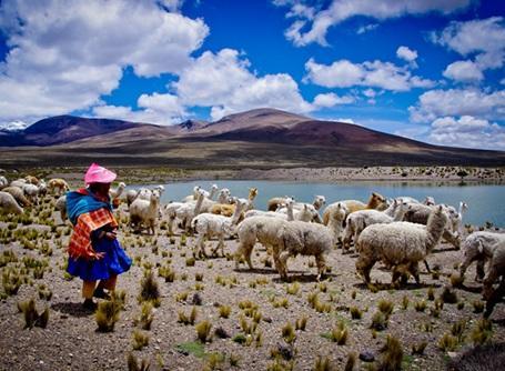 ペルーに暮らす原住民