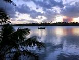 오스트랄라시아 피지 상어 환경보호 프로젝트의 호수 부근
