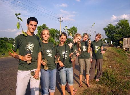 환경보호 봉사자들