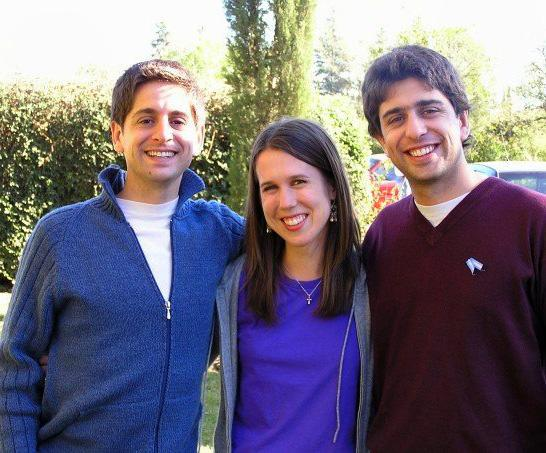 Projects Abroad vrijwilliger met broers in het gastgezin in Argentinië